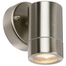 Saxby 13801 Stainless Steel Wall Light GU10 IP44 35W