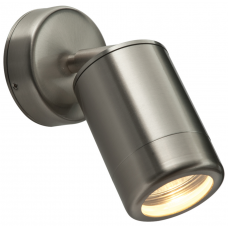 Saxby ST5010S Stainless Steel Wall Light GU10 35W