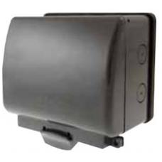 Click OA502AG 2Gang Weatherproof Socket Enclosure
