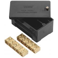 Click WA228 Junction Box 2 Pole 100A Black