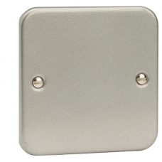 Click CL060 Blanking Plate 1Gang Metal Clad