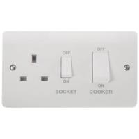 Click CMA504 Cooker Control Unit & Socket 45A