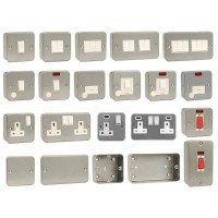 Click Metal Clad Switches & Sockets