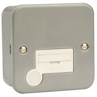 Click CL050 Connection Unit Spur Flex Out 13A Metal Clad