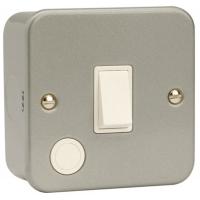 Click CL022 Switched Connection Unit & Flex Out 20A Metal Clad