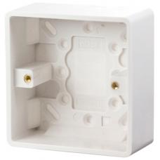 Click CMA083 Surface Pattress 1Gang 35mm White