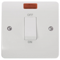 Click CMA501 Switch Double Pole + Neon 45A