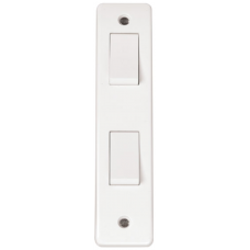 Click CMA172 Architrave Switch 2Gang 2Way