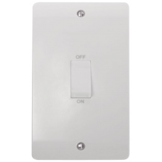 Click CMA502 Switch Double Pole Double Plate 45A