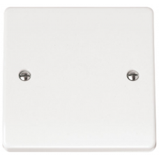 Click CMA060 Blanking Plate 1Gang White