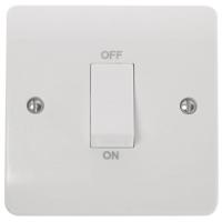 Click CMA500 Switch Double Pole 45A White