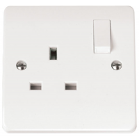 Click CMA035 Switched Single Socket 1Gang Switched 13A
