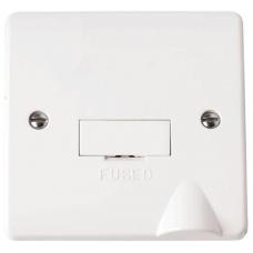 Click CMA050 Connection Unit Fused Spur & Flex Out 13A