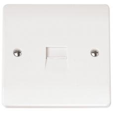 Click CMA119 Single Master Telephone Socket
