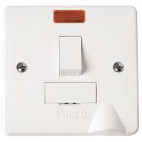 Click CMA052 Connection Unit Switched Spur Neon & FO 13A