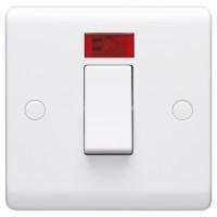 Volex D9712NR Switch 1Gang DP & Neon 45A