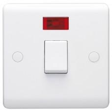 Volex D1060NR Switch 1Gang DP & Neon 20A