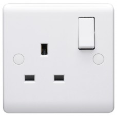 Volex D1300NR Switched Single Socket 13A