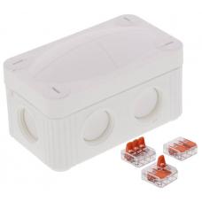 Wiska 10109902 Combi Junction Box 85x49x51mm White