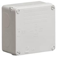 Wiska WIB1 Weatherproof Junction Box Grey IP65 815LH