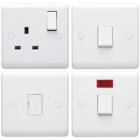 Volex Casa White Switches & Sockets